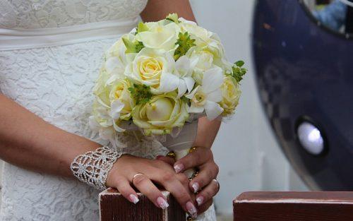 buchet simplu ELEGANT nunta constanta