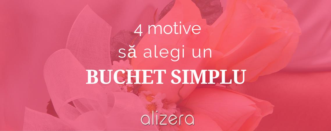 4 Motive Pentru Care Să Alegi Un Buchet Floral Simplu