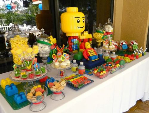 lego candy bar nunta tematic