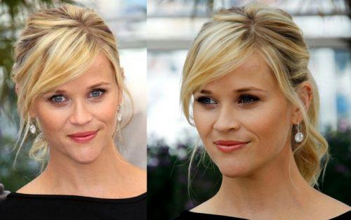 Reese Witherspoon coafura nunta