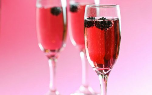 samapanie nunta 9 cocktail kir royal