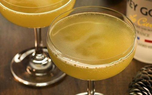 samapanie nunta 9 cocktail pineapple buck's fizz