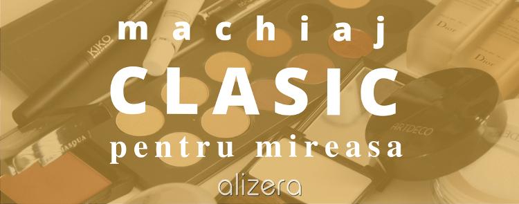 machiaj-clasic mireasa