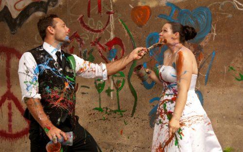 trash the dress pictura nunta