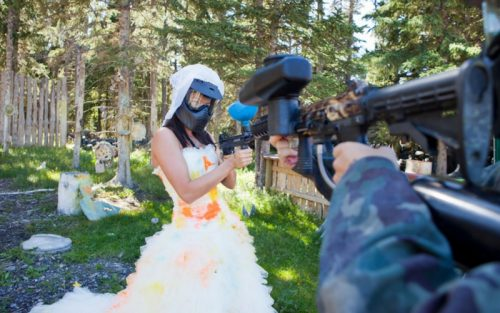 trash the dress la paintball constanta