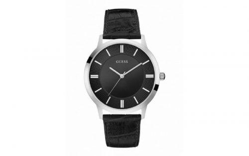 Ceasuri elegante cu curea si cadran negru