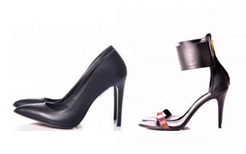 Sandale Versace cu toc inalt