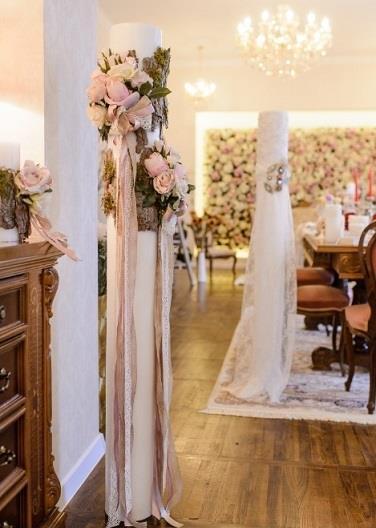 Lumanari personalizate nunta by Hera Decor Constanta