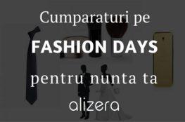 Cumparaturi pe Fashion Days pentru nunta ta