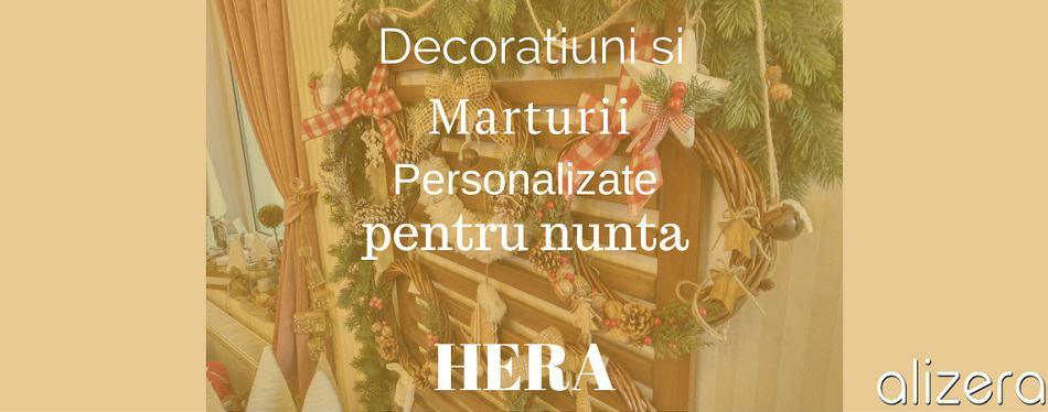 Decoratiuni Si Marturii Personalizate pentru nunta HERA