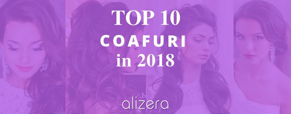 TOP 10 Coafuri pentru Mireasă în 2018