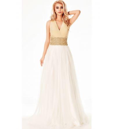 Rochie de mireasa ieftina lunga - Fashion 24