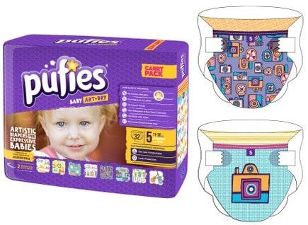 Scutece Pufies Baby Art&Dry