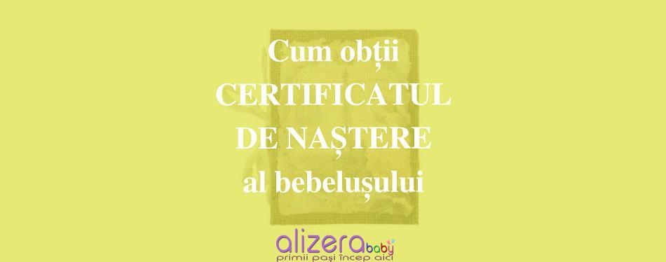 Cum Obții Certificatul de Naștere al Bebelușului