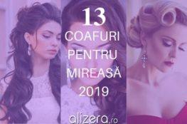 13 Coafuri pentru Mireasă în 2019